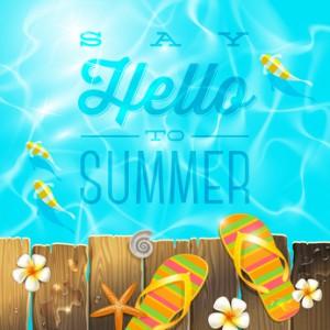 """Titelbild """"Say Hello to Summer"""""""