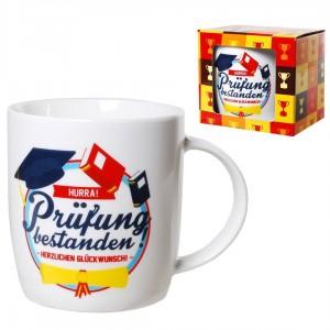 Kaffeebecher zur bestandenen Prüfung