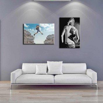 Fotoleinwand auf Holzrahmen in der Größe 30x40cm
