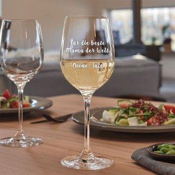LEONARDO Weißweinglas CIAO+ mit Gravur