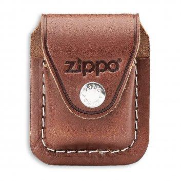 Zippo Tasche braun mit Clip