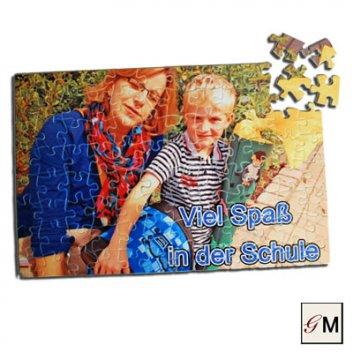 Fotopuzzel mit einem Foto bedruckt