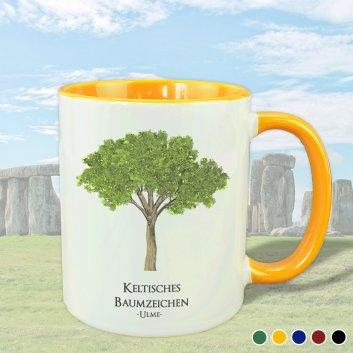 Keltisches Baumzeichen mit Ulme Motiv