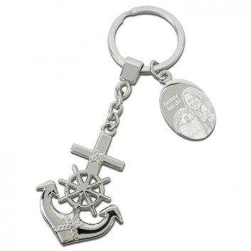 Heimat Schlüsselanhänger mit Fotogravur