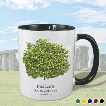 Keltisches Baumziechen mit Haselnuss Motiv
