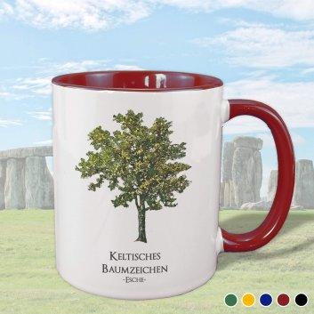 Keltisches Baumzeichen mit Esche Motiv