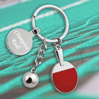 Mini Ping Pong Schlüsselanhänger mit Gravur