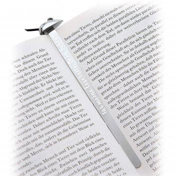 Lesezeichen Mouse mit Gravur von Designmarke Philippi