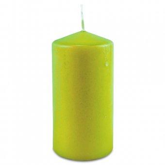 Stumpenkerze 120/60 lime