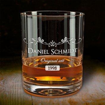 Whisky Tumbler mit Gravur - Original seit...