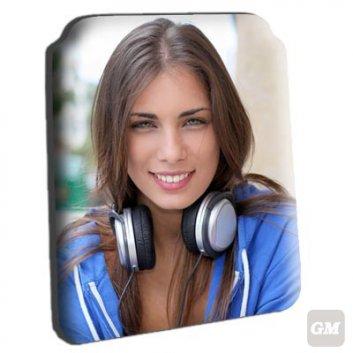 iPad 2/3 Hülle mit einem Foto von einer jungen Frau