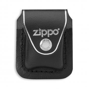 ZIPPO Tasche schwarz mit Clip