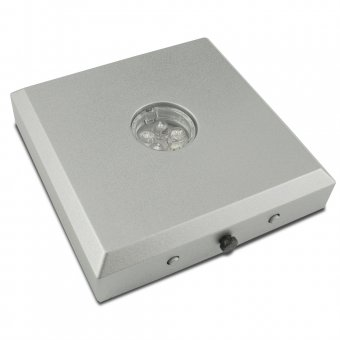 LED Base silber
