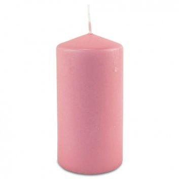Stumpenkerze 120/60 rosa