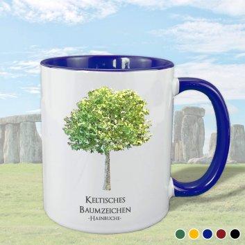 Keltisches Baumzeichen mit Hainbuche Motiv