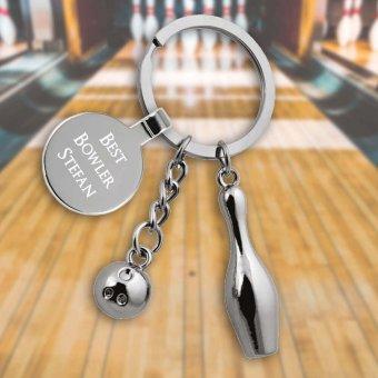 Pin Bowling Schlüsselanhänger mit Gravur