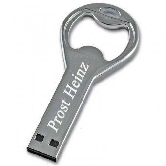 USB Stick Flaschenöffner mit Gravur