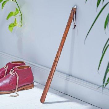 Holz-Schuhlöffel mit Gravur