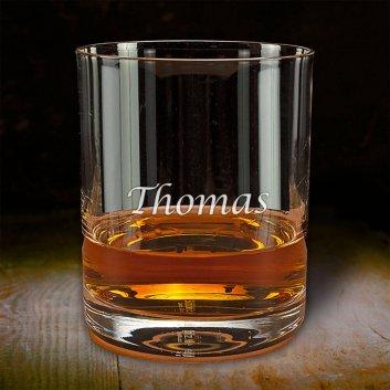 Gravierter Whisky Tumbler mit Namen