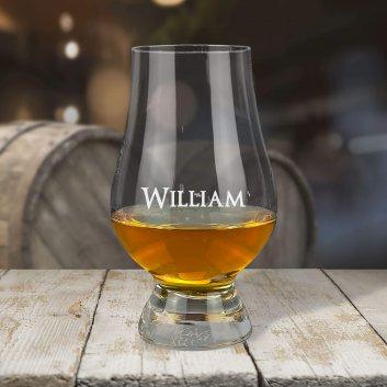 The Glencairn Glass mit Namen graviert