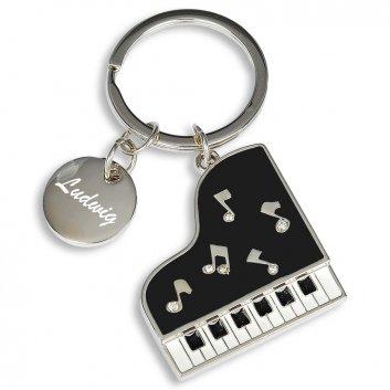 Schlüsselanhänger Klavier mit Gravur