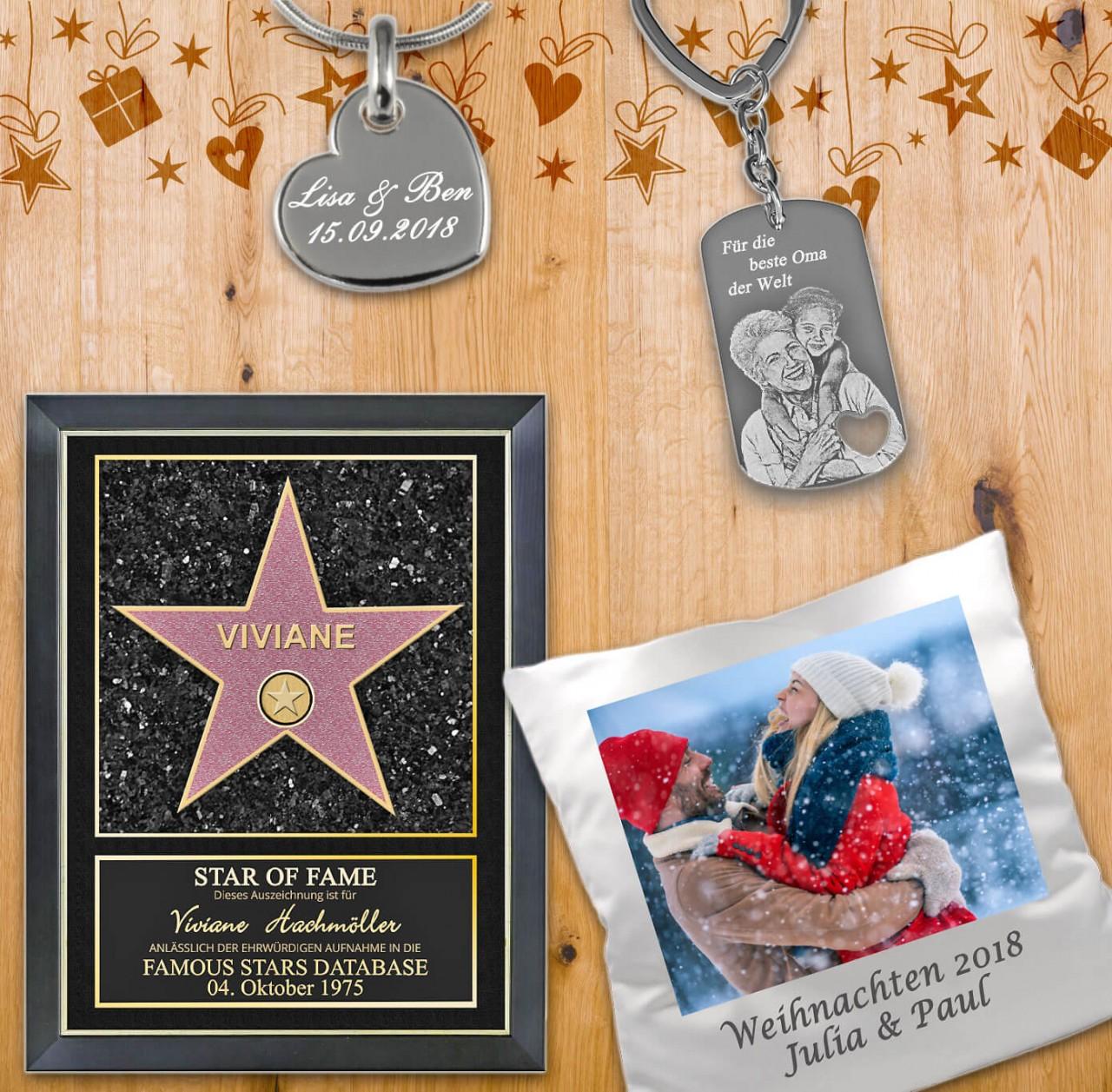 Bescherung am Weihnachtsabend mit persönlichen Geschenkideen