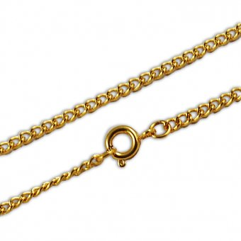 Goldkette für Goldanhänger in 56 cm
