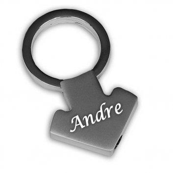 Schlüsselanhänger Mars Symbol mit Gravur
