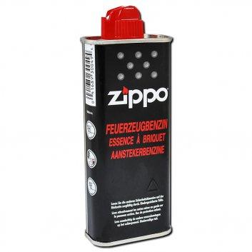 Zippo Flasche mit 125ml Benzin.