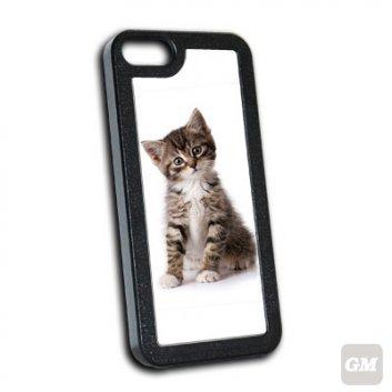 iPhone 5 Hülle mit einem Foto von einer Katze