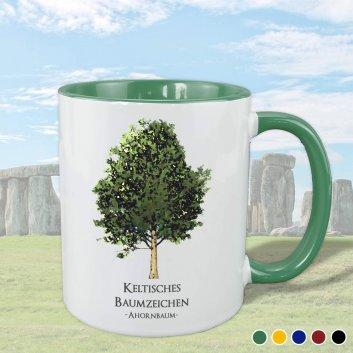 Keltisches Baumzeichen mit Ahorn Motiv