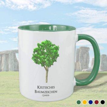 Keltisches Baumziechen mit Linde Motiv