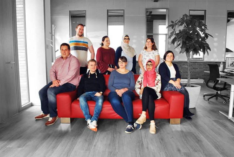 GeschenkeMAXX Team 2018
