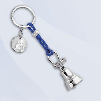 Schlüsselanhänger mit Glocke im maritimen Design