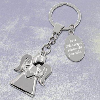 Engel Schlüsselanhänger mit Gravur