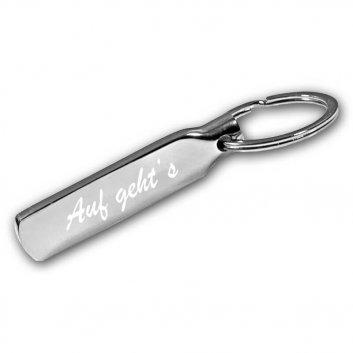 Schlüsselanhänger Stick mit Gravur